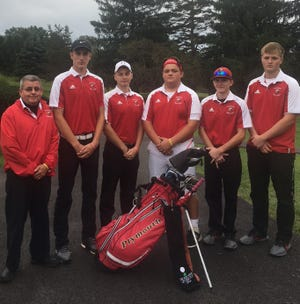 Coach Jeff Calame and his Plymouth golf team will be in action at the Division III district tournament in Bowling Green on Thursday after taking sectional runner-up honors.