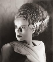 "Something old (a Nefertiti-esque hairdo), something new (electricity); borrowed (her body parts), something grue:  ""Bride of Frankenstein,"" starring Elsa Lanchester, screens Friday night at the Memphis Pink Palace Museum and Elmwood Cemetery."