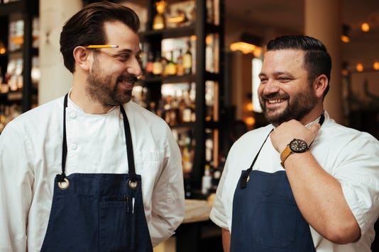 ticer and michael hudman have planned a star studded chef event to celebrate the 10th anniversary of their restaurant andrew michael italian kitchen - Andrew Michael Italian Kitchen