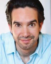 "Andrew Joseph Perez performs in Renaissance Theaterworks' production of ""Native Gardens.'"