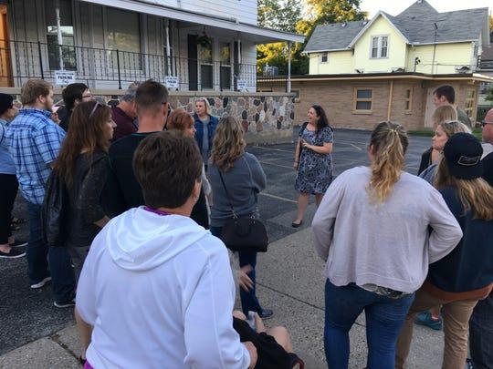 Erin M. Schroeder has been leading Waukesha Ghost Walks for three years.