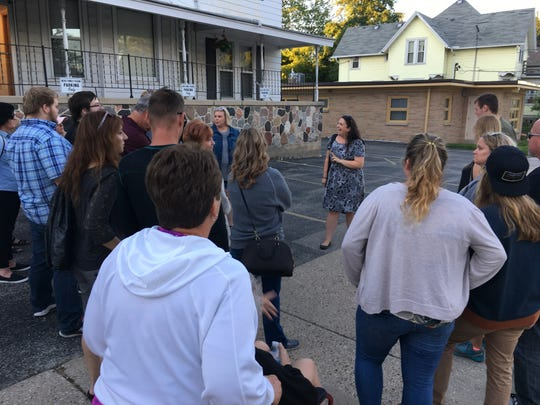 Erin M. Schroeder has been leading Waukesha Ghost Walks for three years.