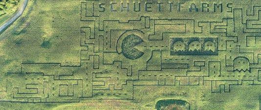 Pac Man Maze