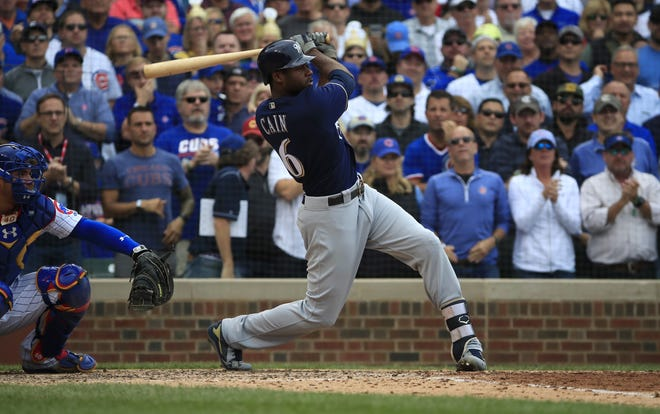 Brewers centerfielder Lorenzo Cain says its been difficult to start, stop and restart training for the baseball season.