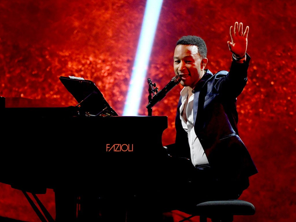"After completing his EGOT this fall,  John Legend will tour behind a new holiday album, ""A Legendary Christmas,"" with a stop at the Riverside Theater Dec. 12. Tickets go on sale at 10 a.m. Friday."