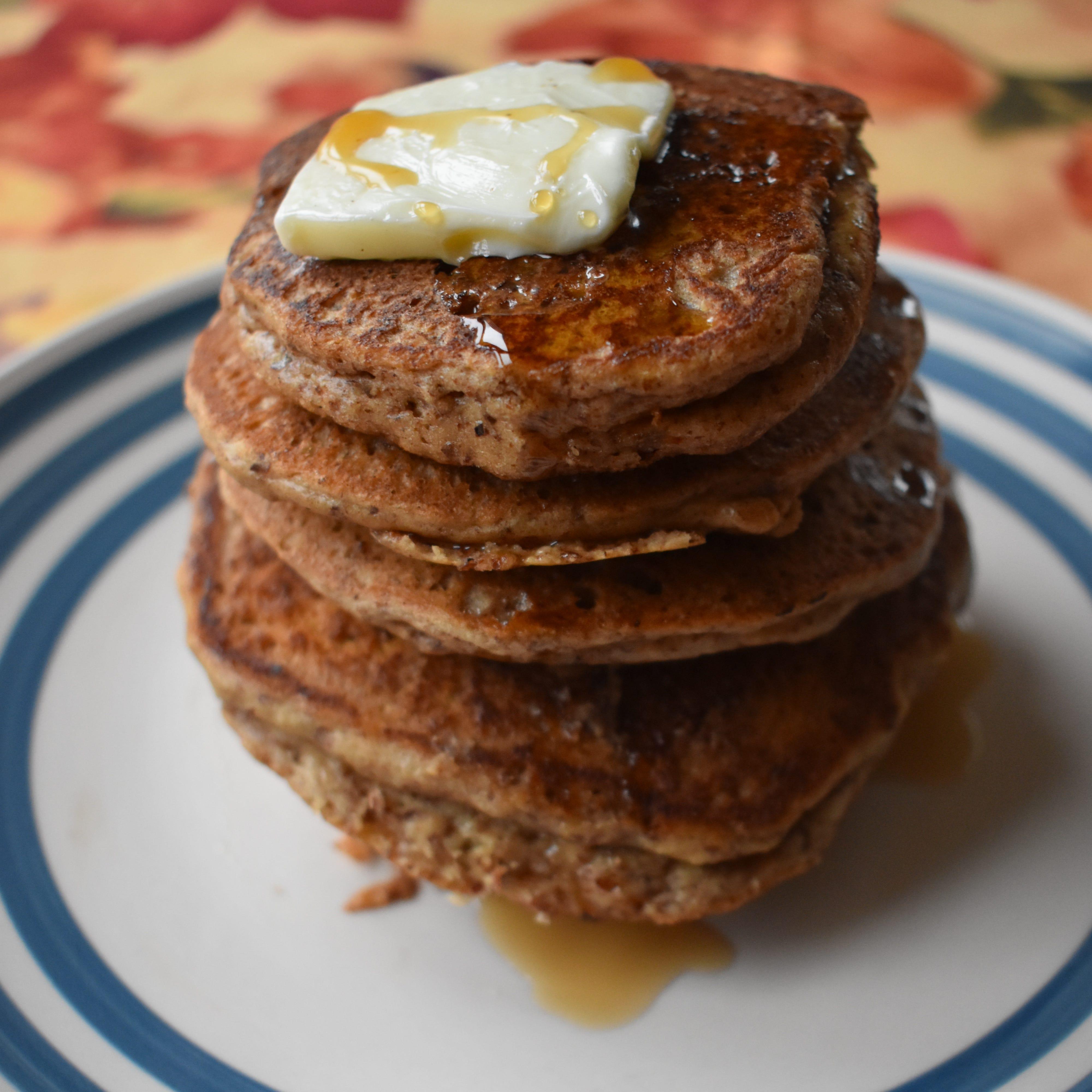 Pumpkin Spiced Almond Flour Pancakes make a...