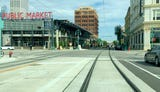 Time lapse of the Milwaukee streetcar route