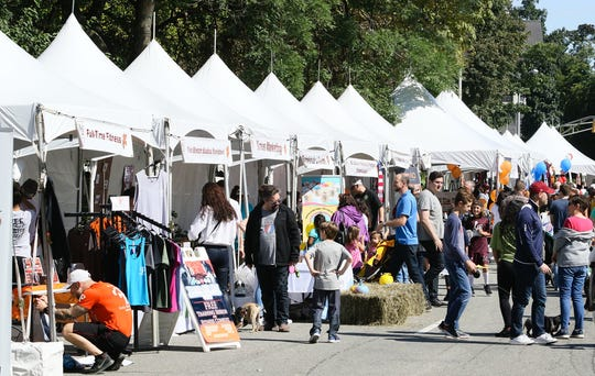The Morristown Fall Festival was held on Sunday, Sept. 30, 2018.
