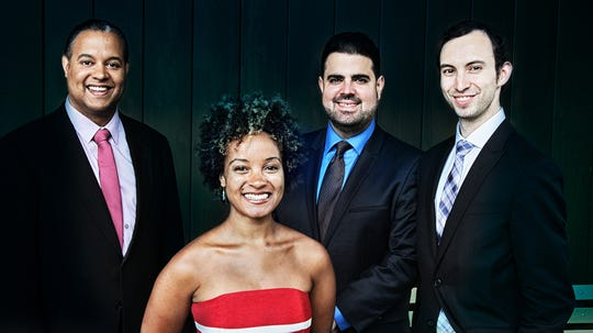 Rob Kapilow and the Harlem Quartet will perform at the Morris Museum on Sunday.