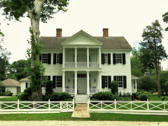 Dellet Park, which will be a feature of the Old Claiborne Pilgrimage on October 13-14, was the 1835 home of Alabama's first speaker of the house, James Dellet.