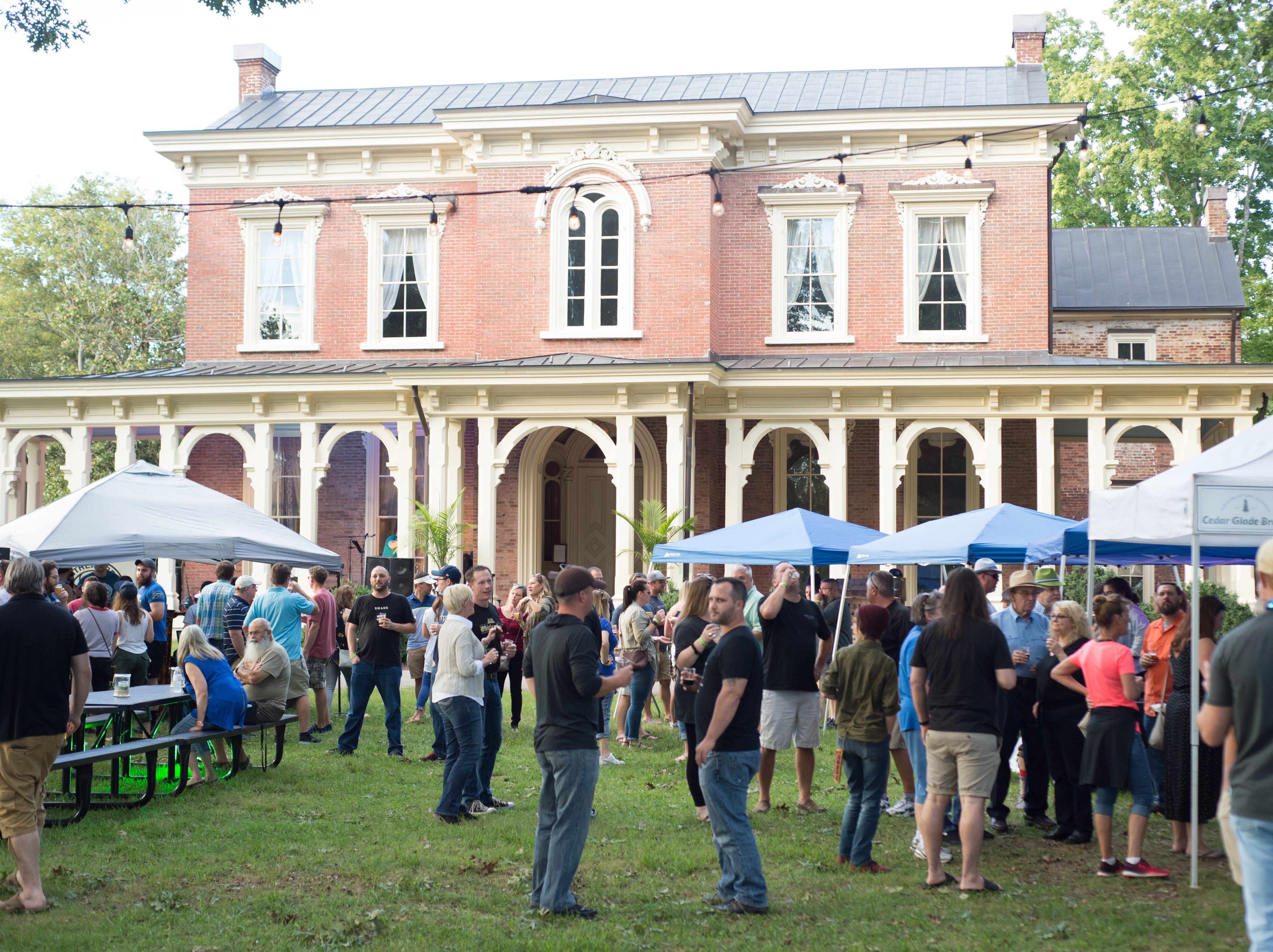 Oktoberfest drew a large crowd to Oaklands Mansion in Murfreesboro on Saturday, Sept. 29.