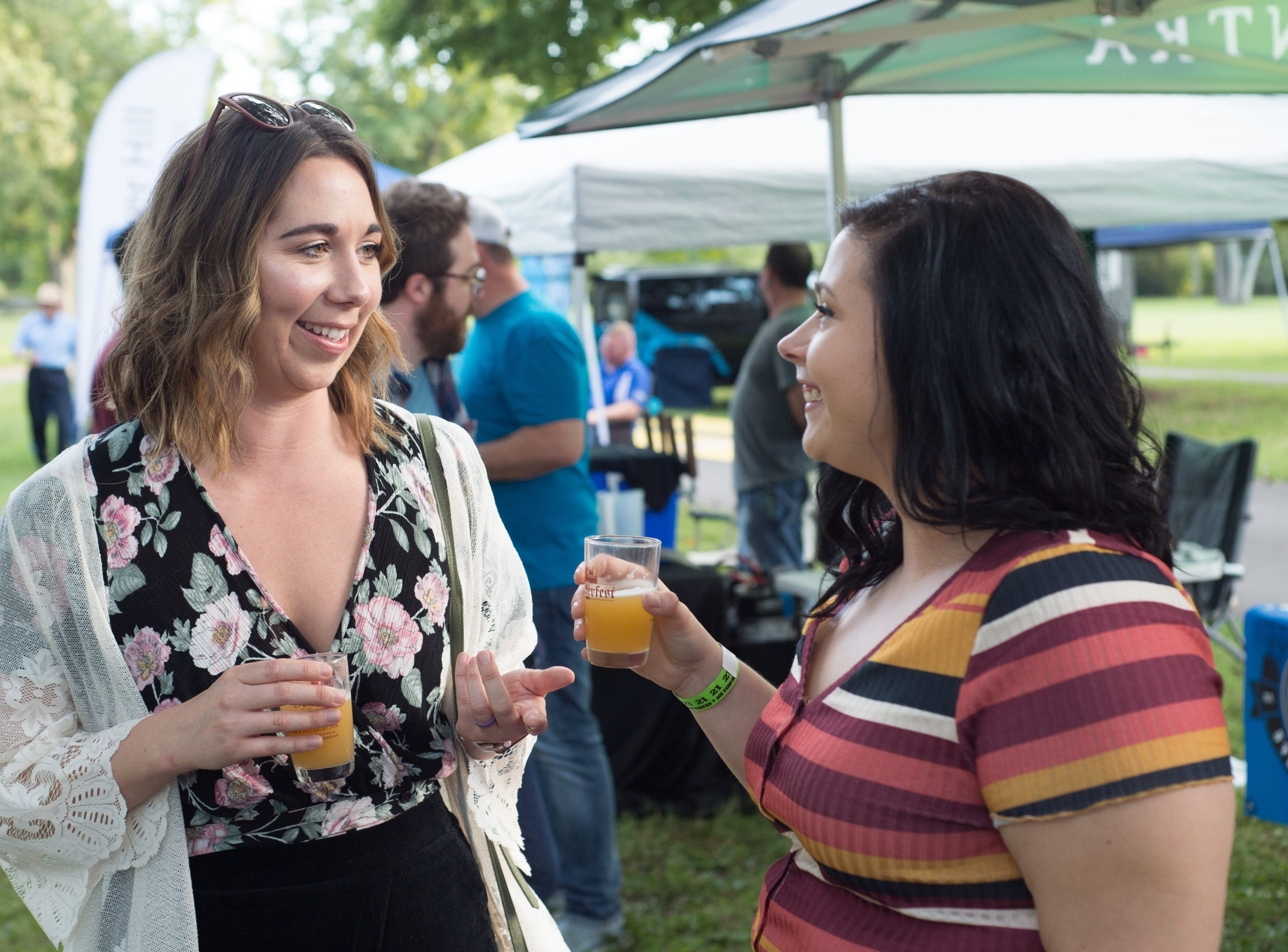 The community came out to spend time with friends at Oktoberfest at Oaklands Mansion in Murfreesboro on Saturday, Sept. 29.