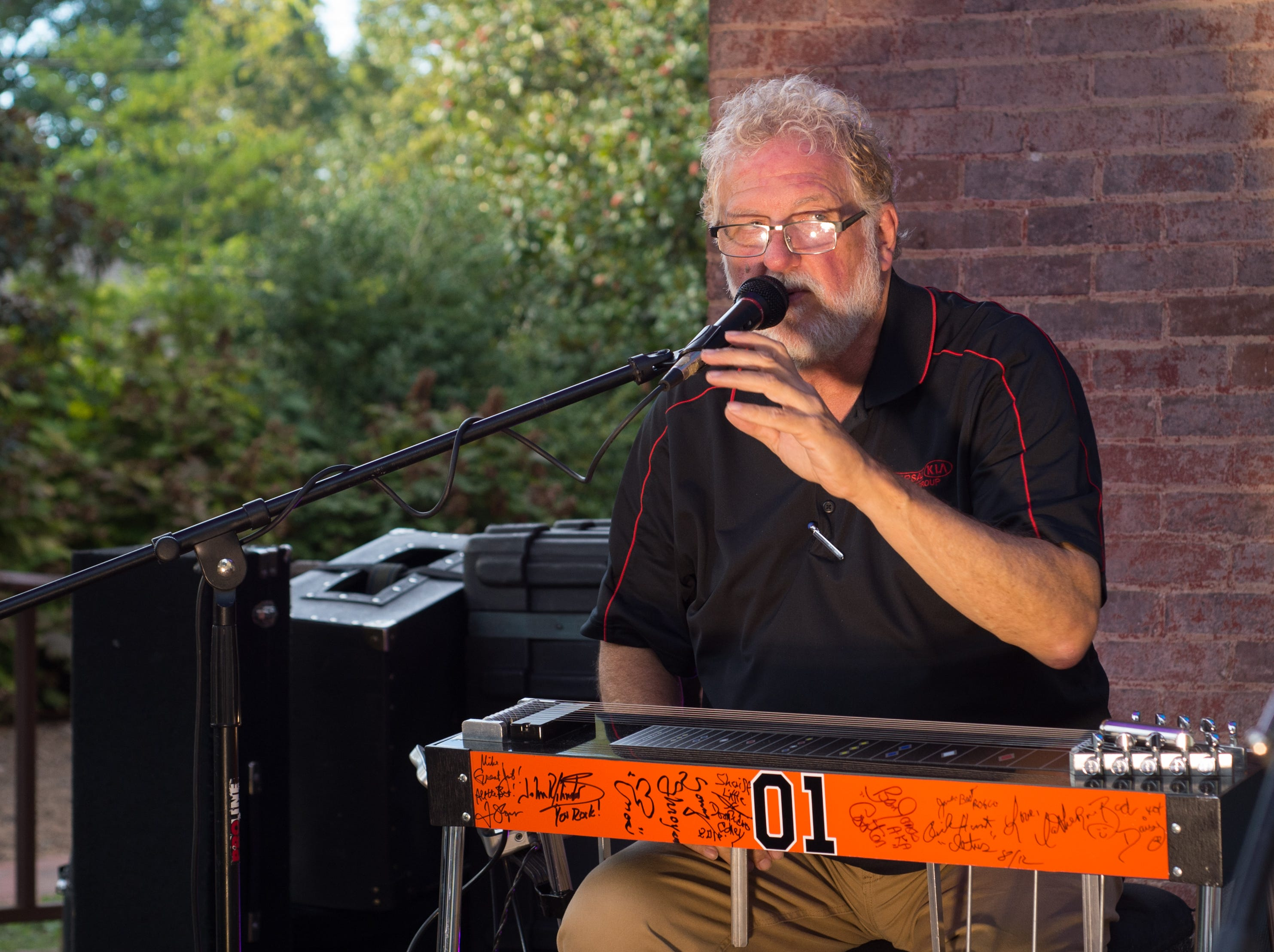 Music Filled the air during Oktoberfest at Oaklands Mansion in Murfreesboro on Saturday, Sept. 29.