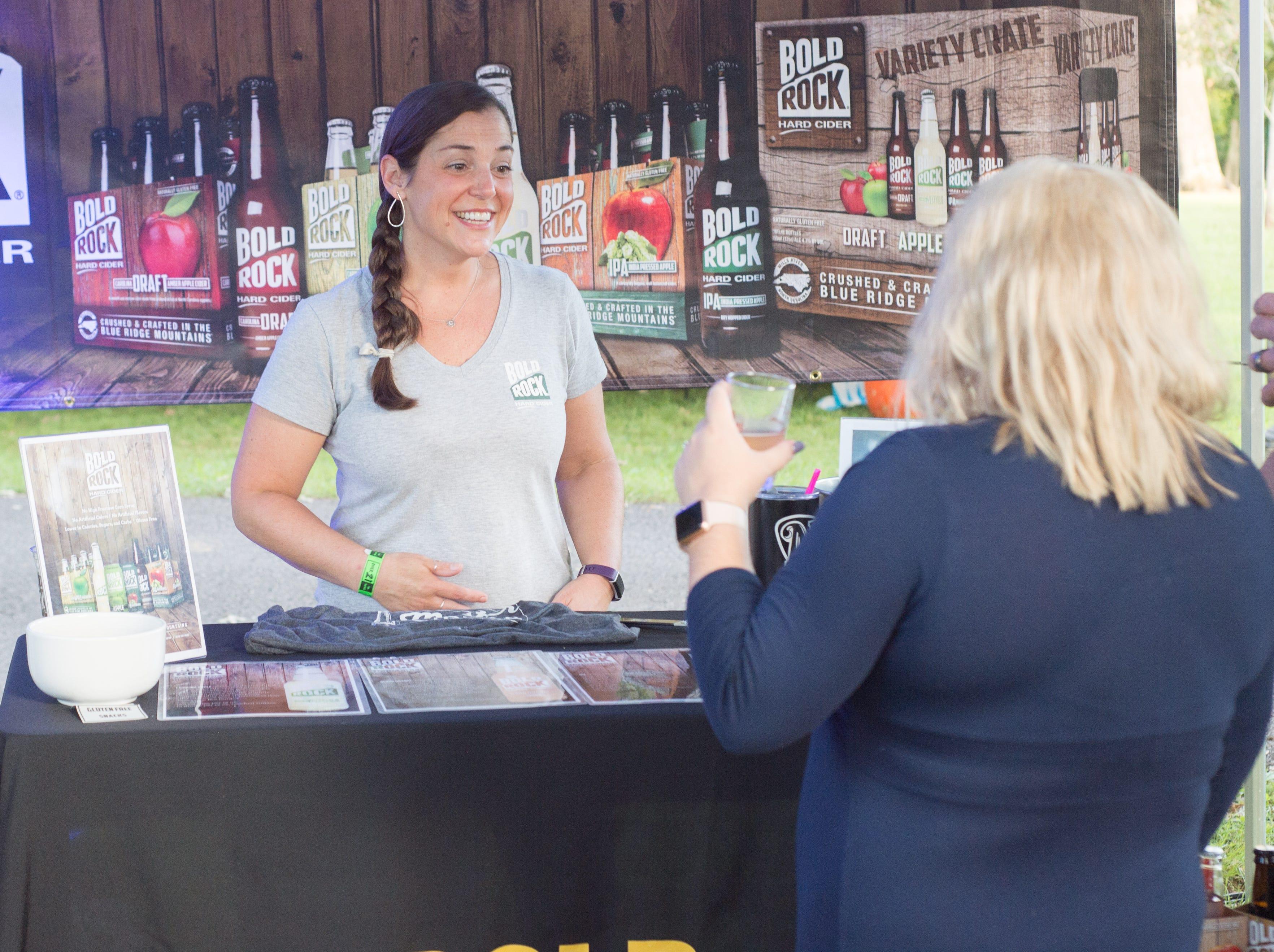 Vendors participate in Oktoberfest at Oaklands Mansion in Murfreesboro on Saturday, Sept. 29.