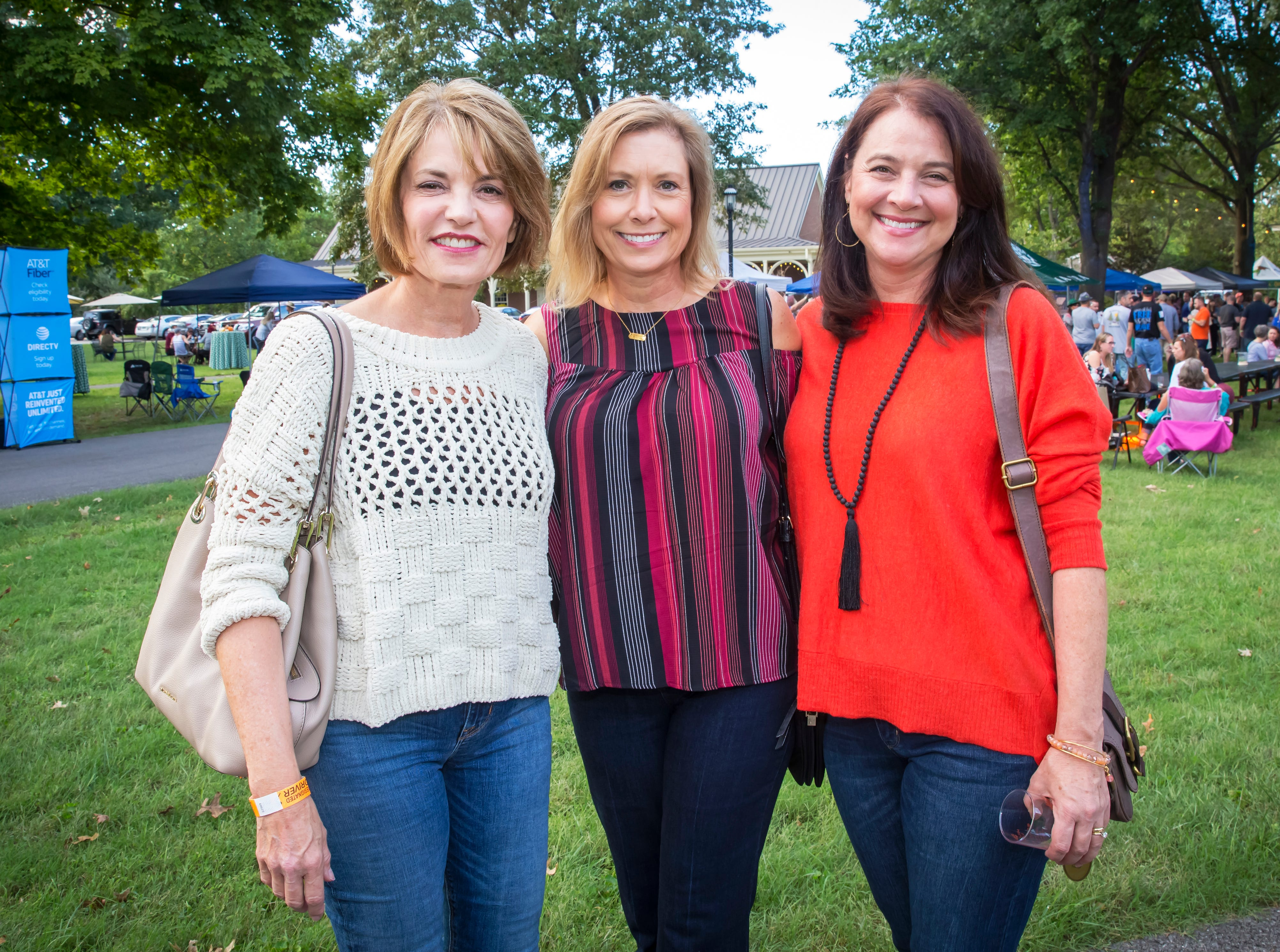 Kim Ristau, Connie Harris and Molly Adcock at the fourth-annual Oktoberfest held at Oaklands Mansion.Jim Davis/for the DNJ