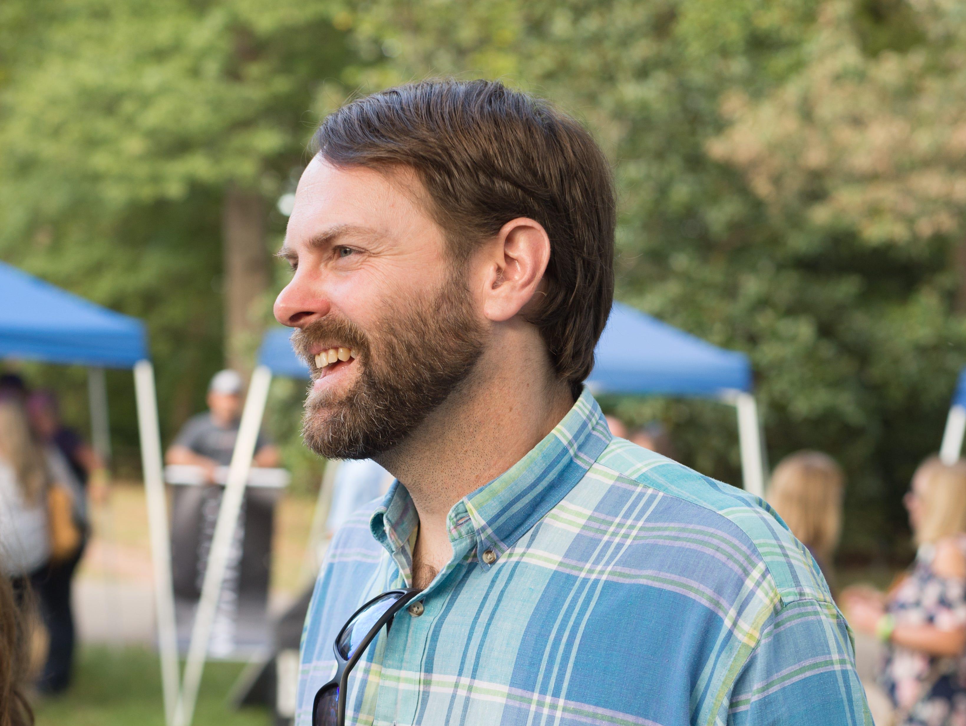 P.G. Banker enjoys Oktoberfest at Oaklands Mansion in Murfreesboro on Saturday, Sept. 29.