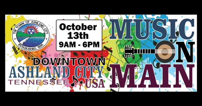 The fourth-annual Music on Main will be held Oct. 13 in Ashland City.