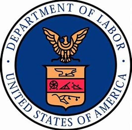 #stock Department of Labor logo