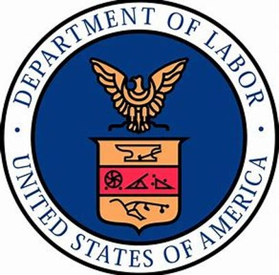 #stock Department of Labor logo