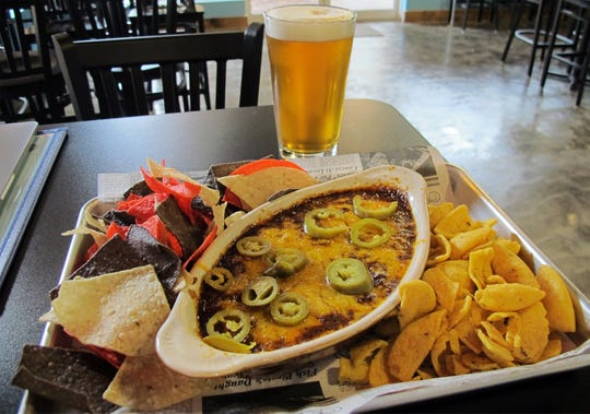 Queen City Chili Dip at the new Southern Latitudes Brewpub & Grub at Bayfront in Naples.
