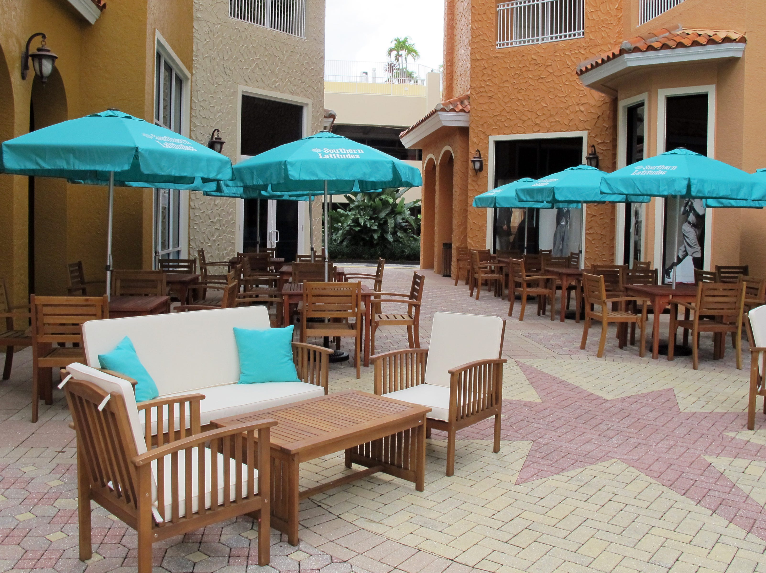 Southern Latitudes Brewpub & Grub has indoor and outdoor seating at Bayfront in Naples.