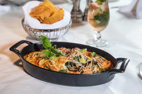 """Vegetarian lasagna is on Yabba Island Grill's """"3 Courses for $30 per person"""" menu."""