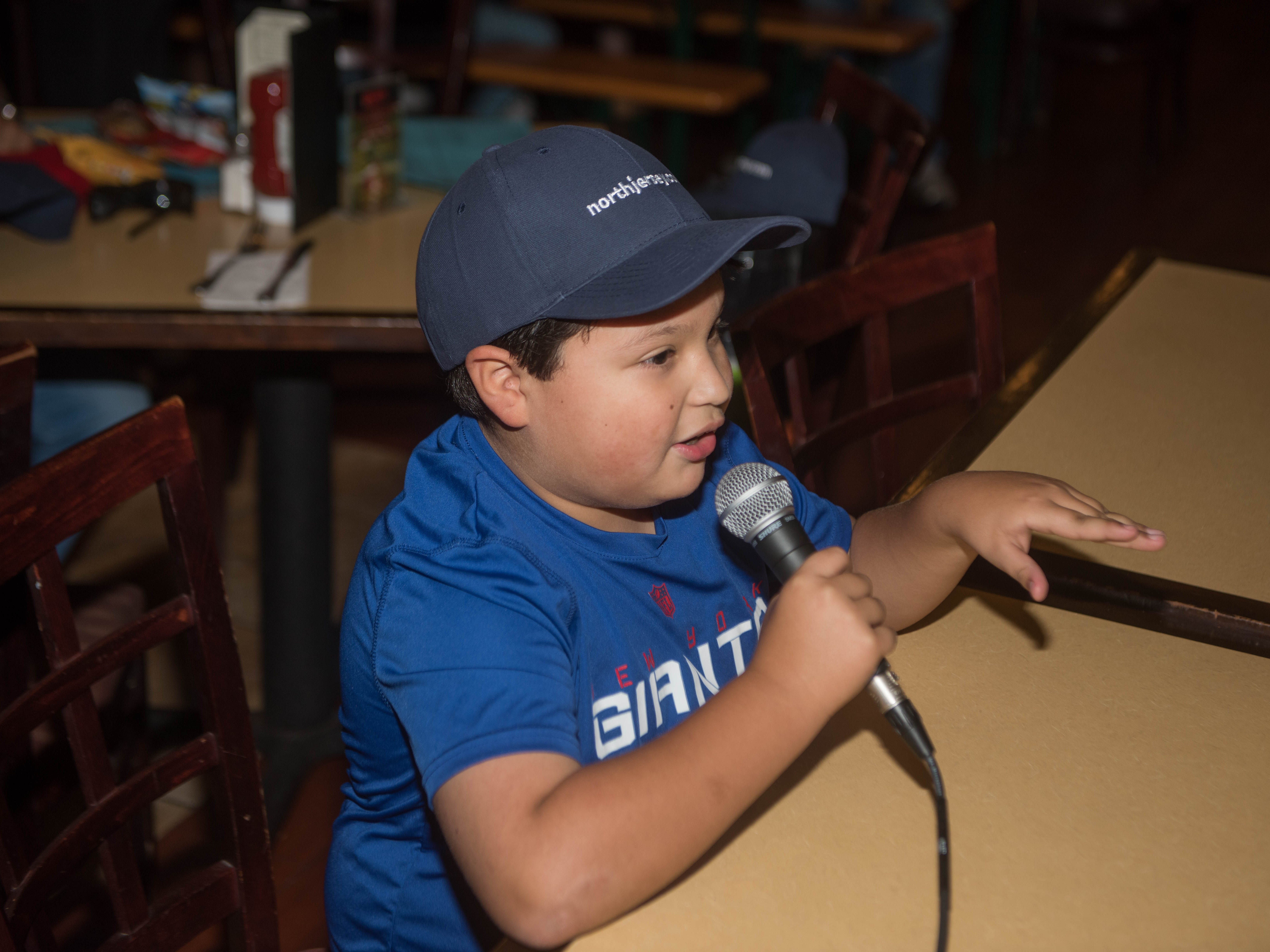 Josh Juarez answers some questions from Art Stapleton and Dave Rivera. The Record sports writers Art Stapleton and Dave Rivera joined fans at Redd's to talk Giants and Saints before the game. 09/30/2018