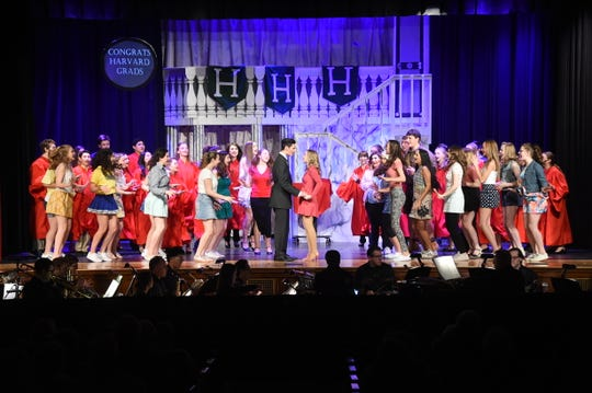 Glen Rock High School's Musical production of Legally Blonde 2018.