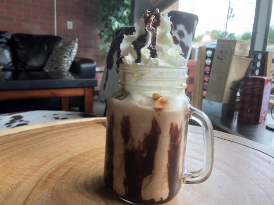 Haylee's Coffee House is a cozy setting for enjoying coffee treats.