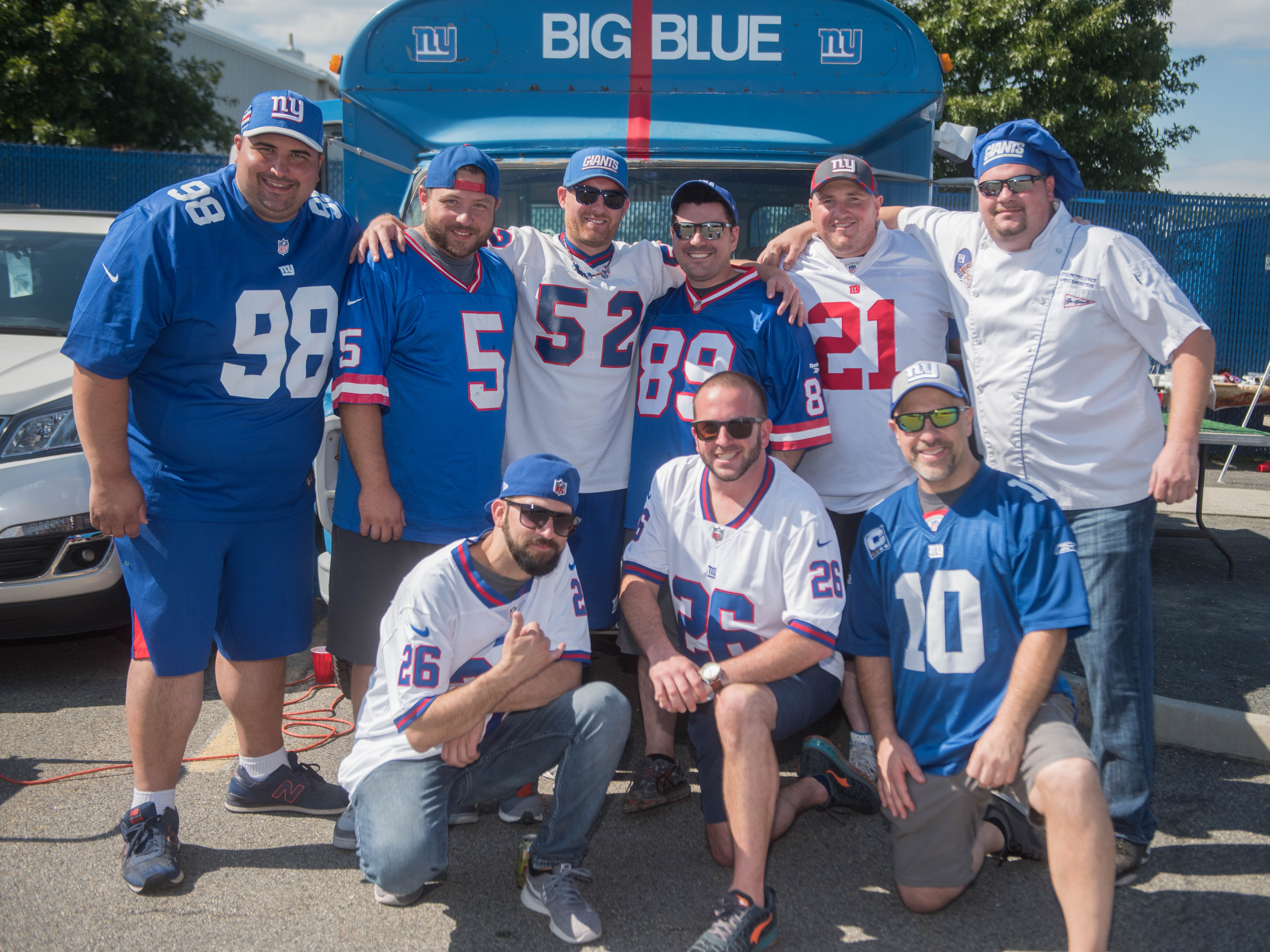 The Undefeated Tailgate Crew at the Giants vs. Saints tailgate party, Sunday, Sept. 30, 2018.