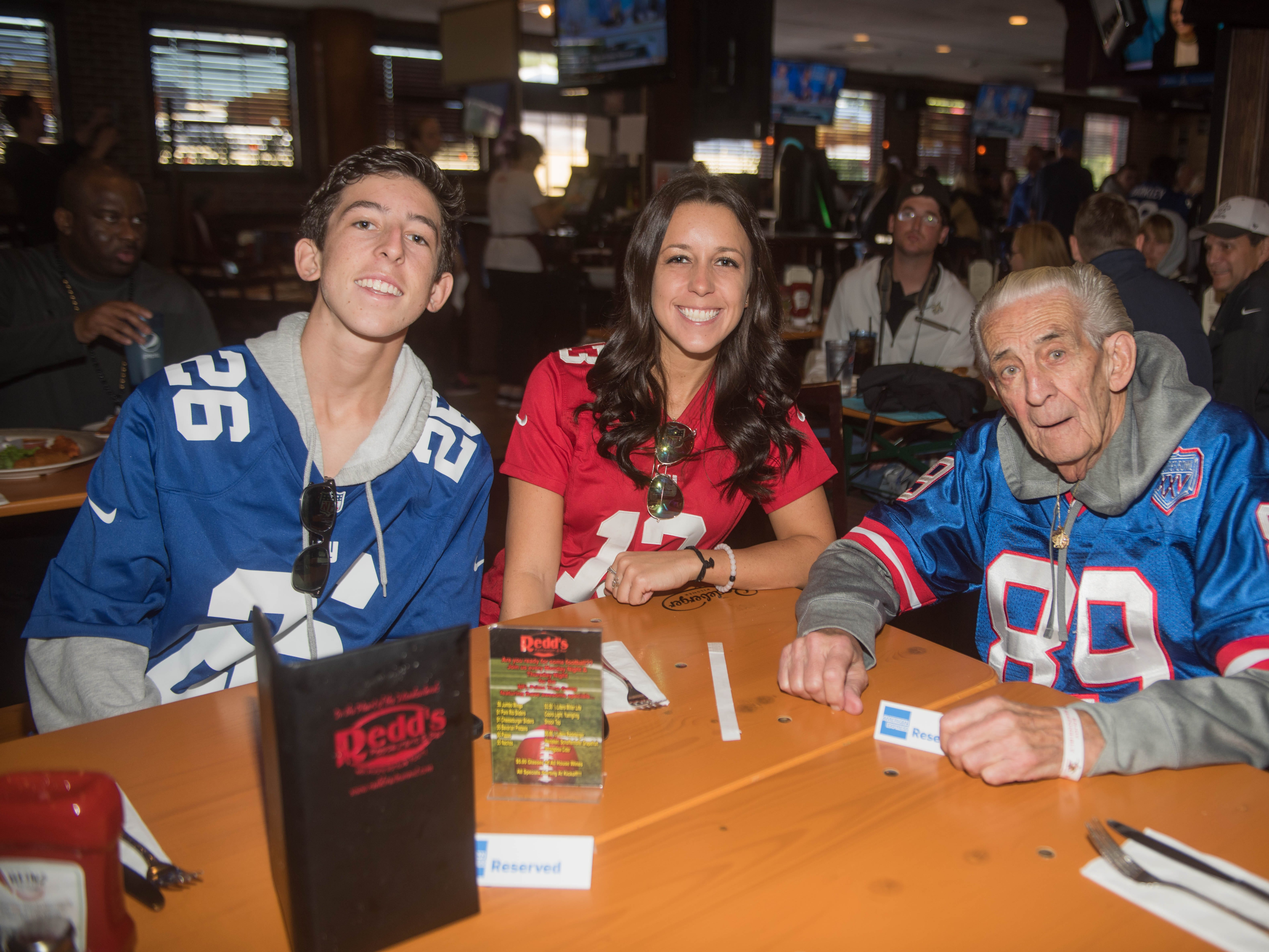 Vinny Ferro, Jillian Ferro and CJ Ferro. 