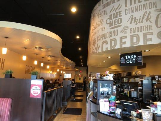 Kafe Neo in Totowa serves up a big menu alongside its coffee drinks.