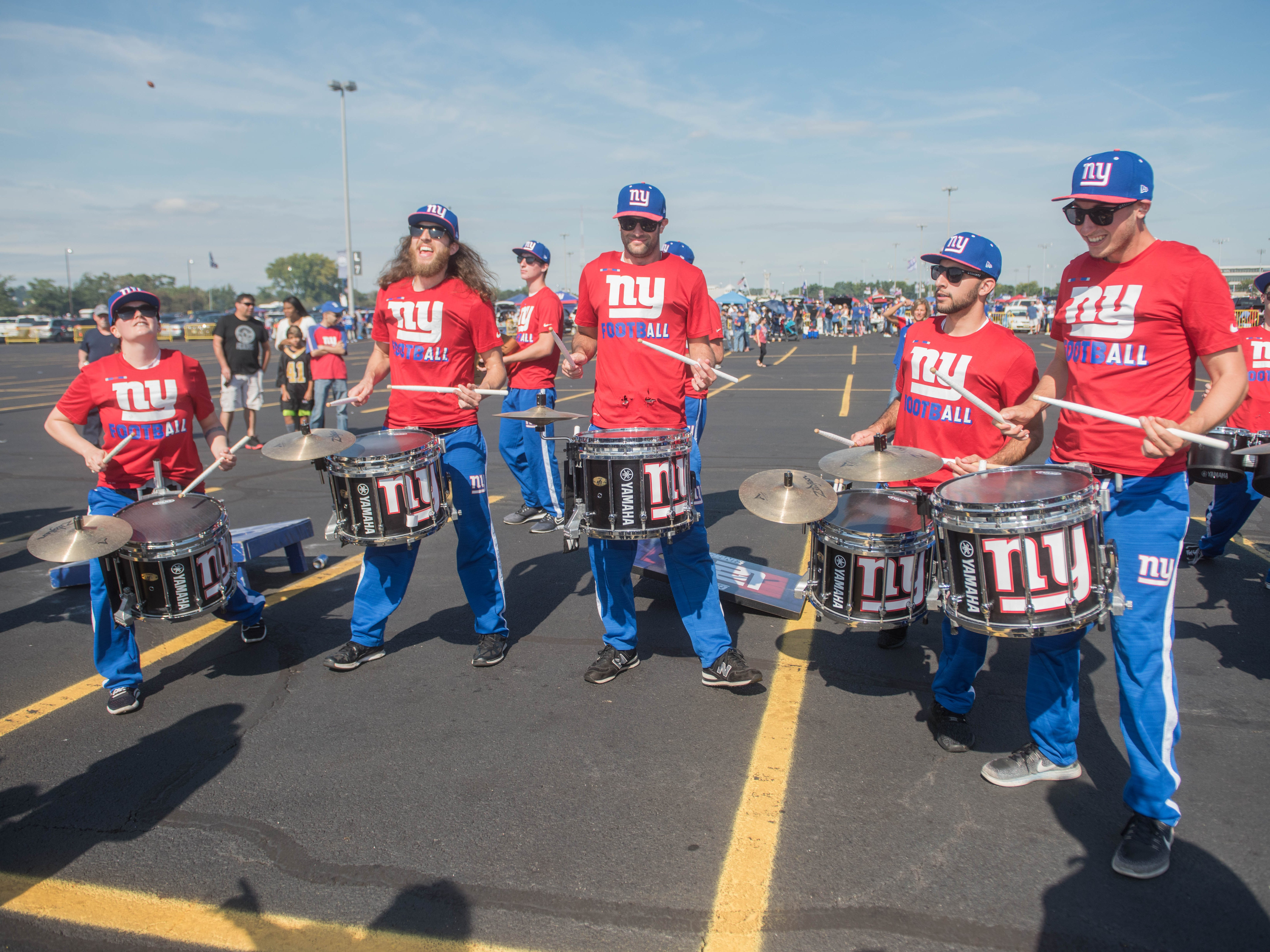 The G Line at the Giants vs. Saints tailgate party, Sunday, Sept. 30, 2018.