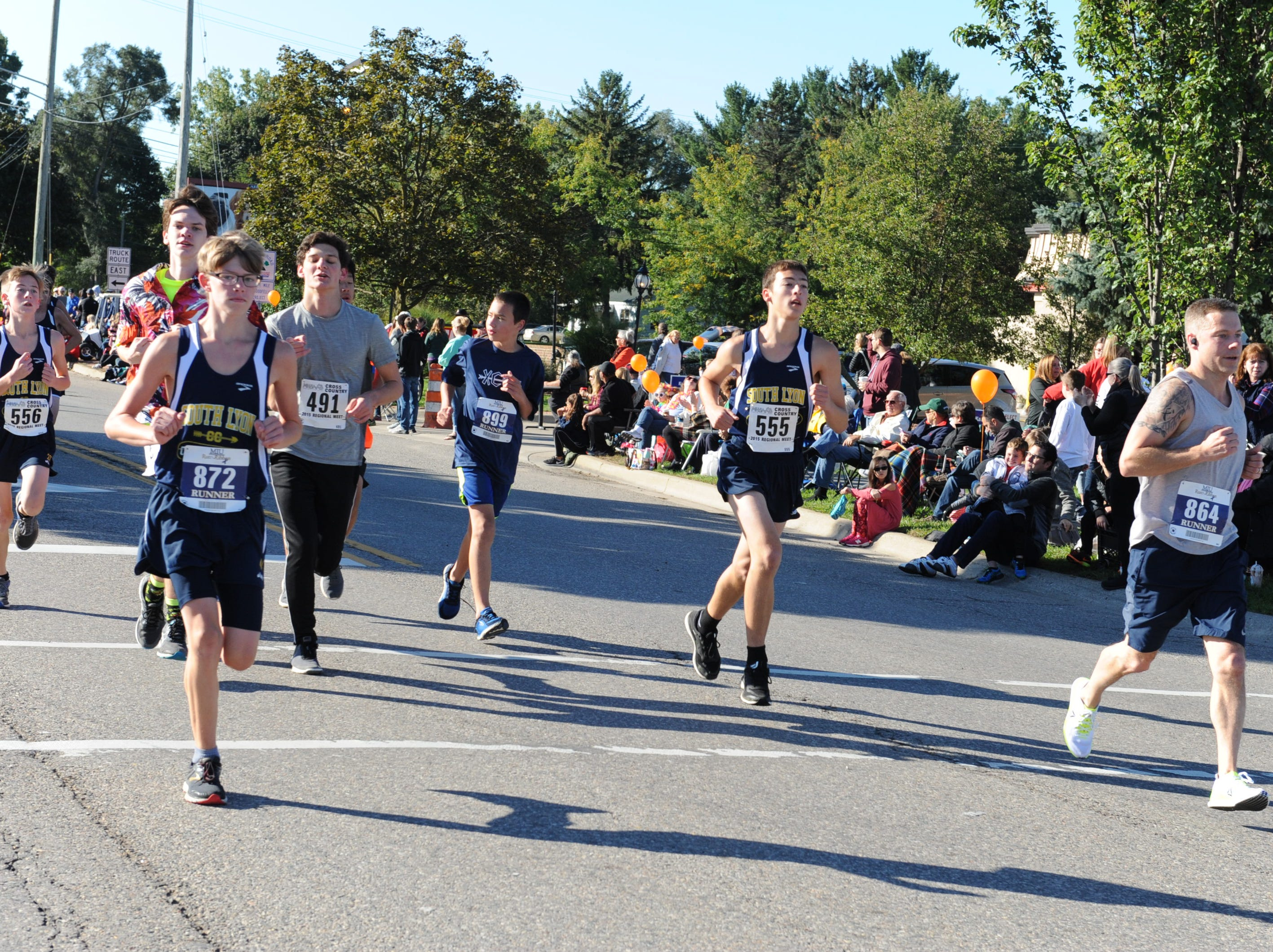 Perfect weather greeted the runners at the 5K run Saturday morning.