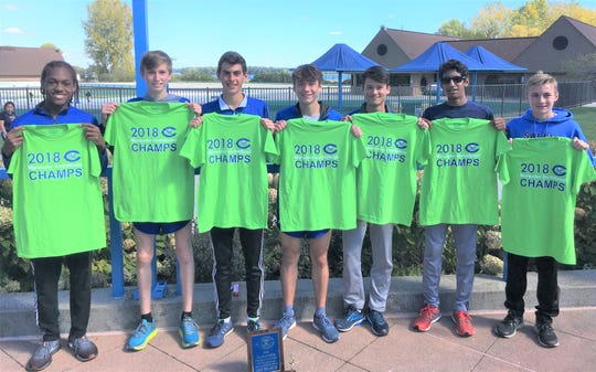 The Salem boys cross country team captured the Maurader Invitational held Sept. 29 at Lake Erie Metropark.