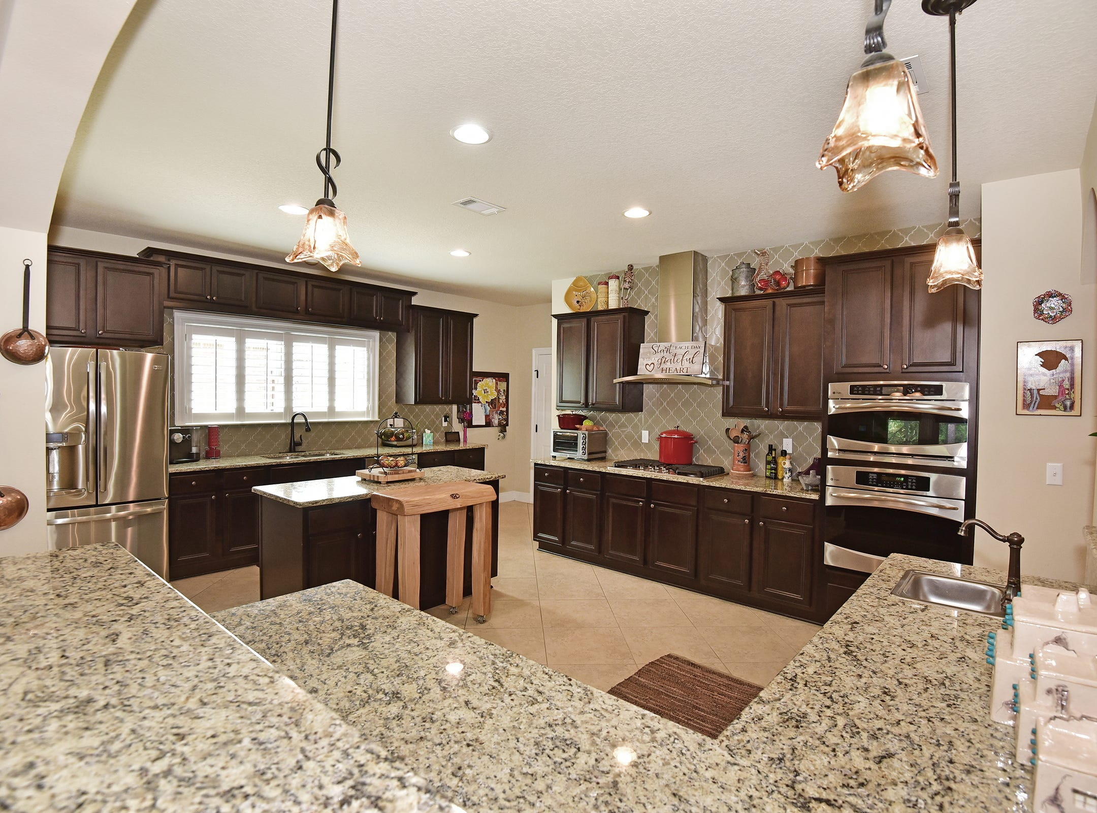 8811 Salt Grass Drive, the kitchen is perfect for the home chef.