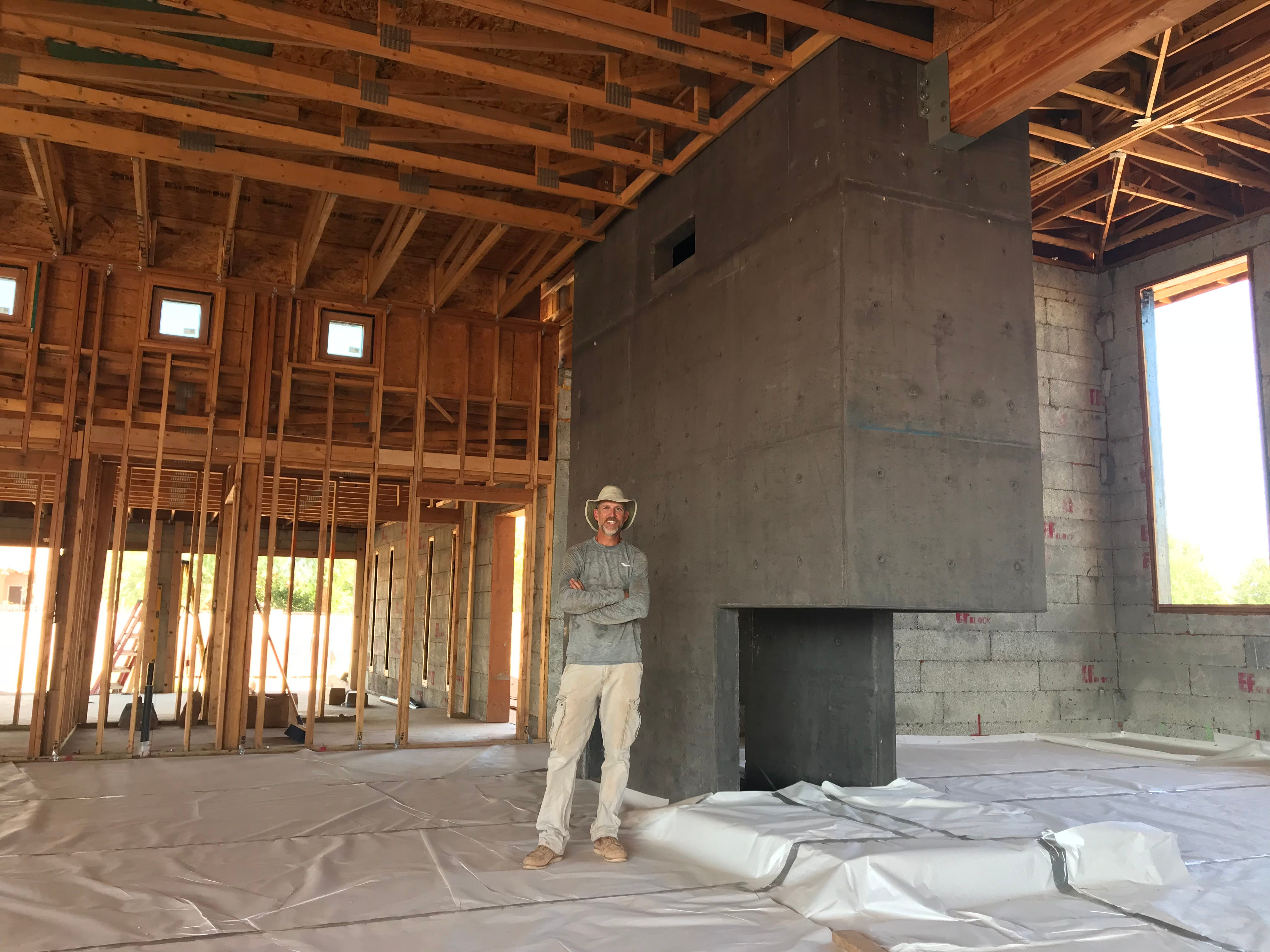 Will Carpenter, commercial project manager behind Tempe's First Solar building, has wanted to build his own house since he was 8 years old.