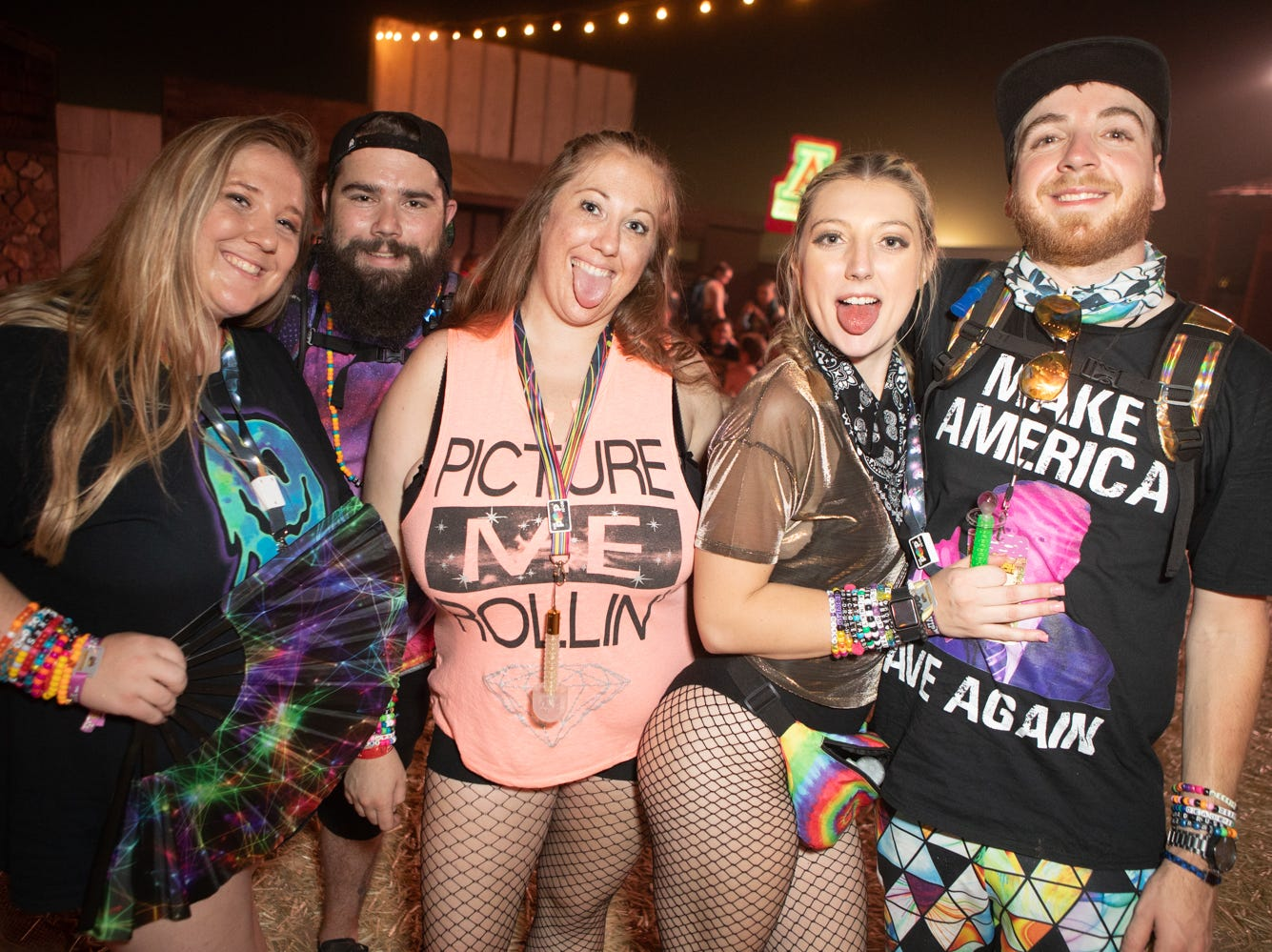 EDM music and fashion were both in full swing at the Goldrush Music Festival on Saturday, Sept. 29, 2018 at Rawhide.