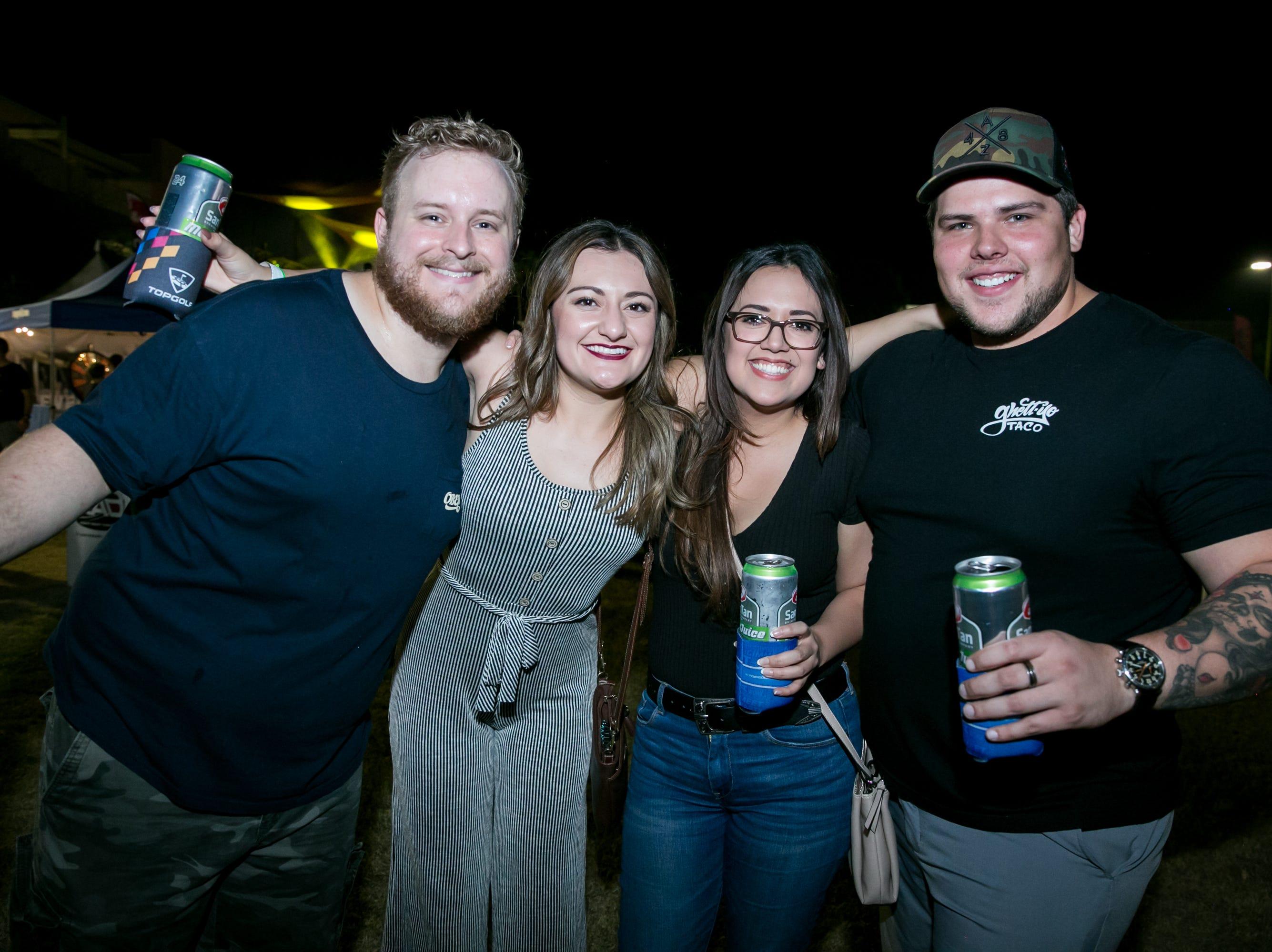 This group had fun during SanTan Brewing Oktoberfest at Dr. AJ Chandler Park in Chandler on Saturday, September 29, 2018.