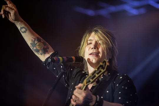 The Goo Goo Dolls perform in Phoenix at The Van Buren for their Dizzy Up the Girl tour launch, Sunday, Sept. 30, 2018.