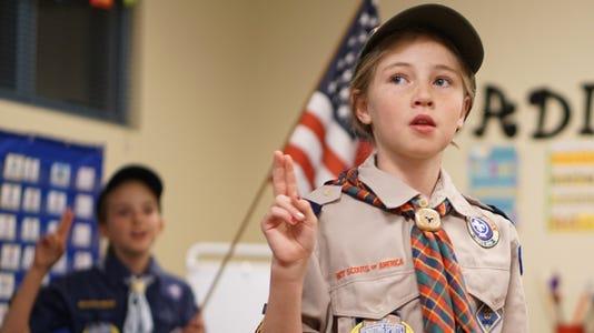 Cub Scout Girl