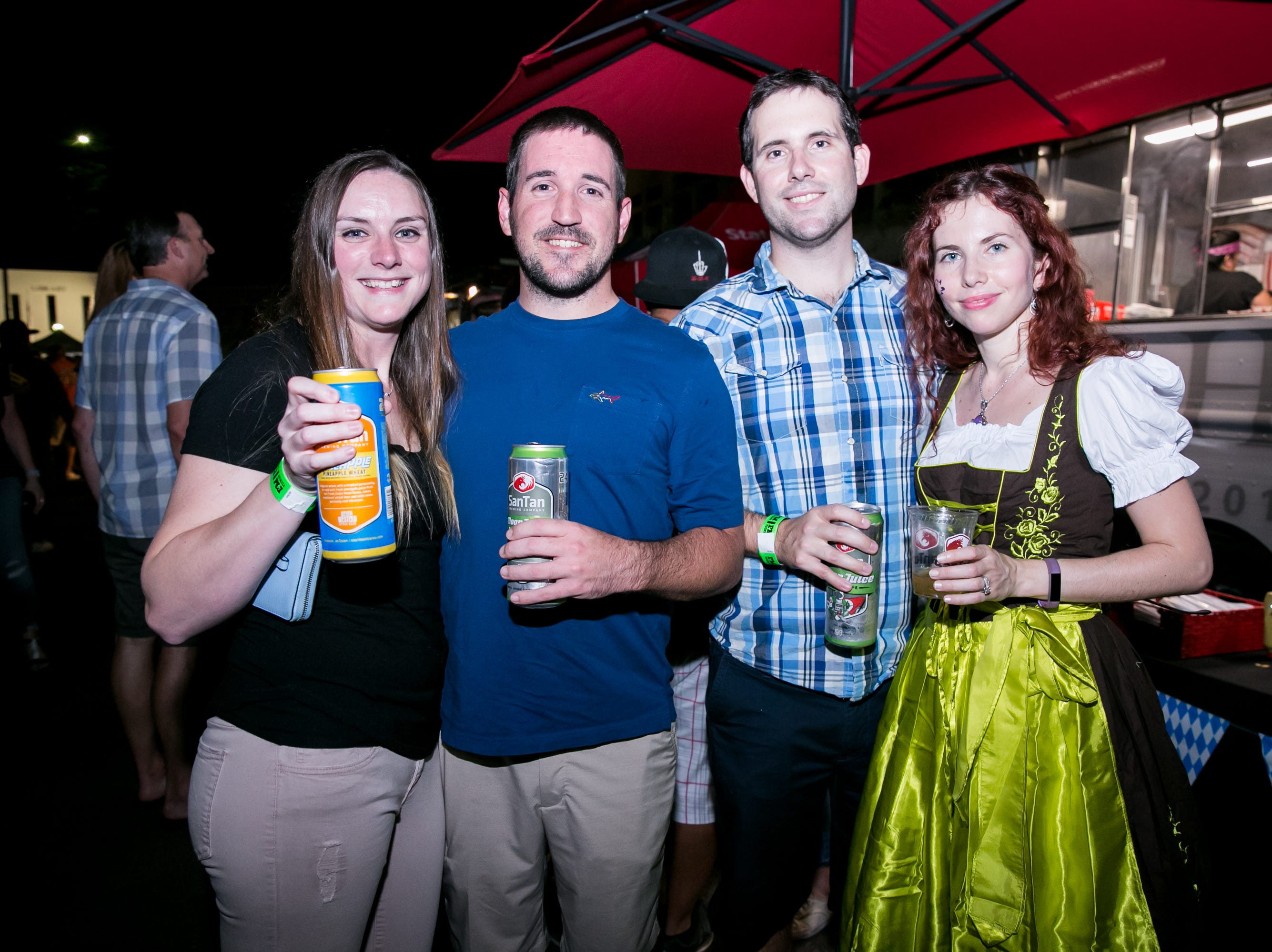 Great times were had during SanTan Brewing Oktoberfest at Dr. AJ Chandler Park in Chandler on Saturday, September 29, 2018.