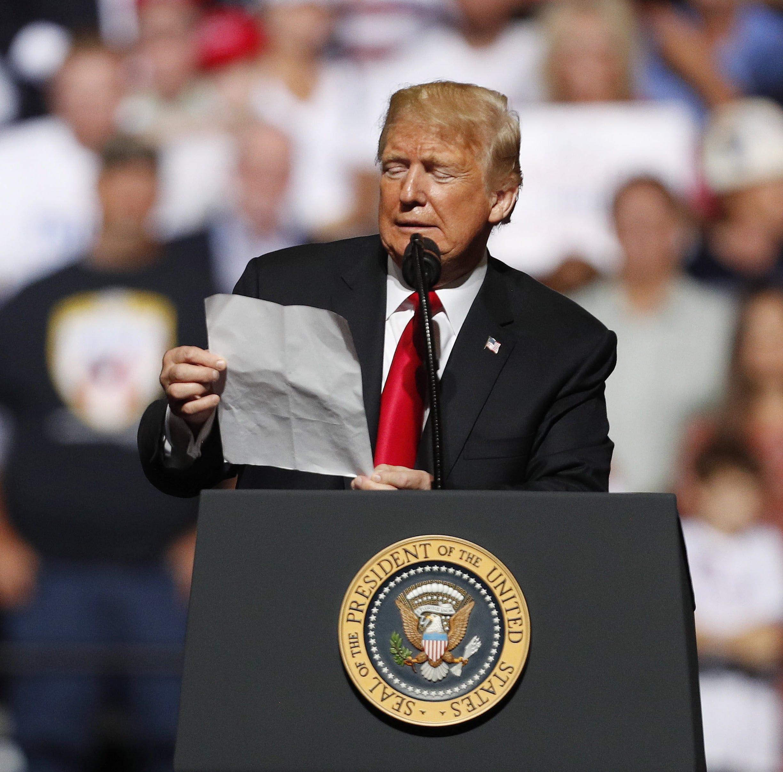 Trump: Es el acuerdo comercial más importante de la historia de EE.UU
