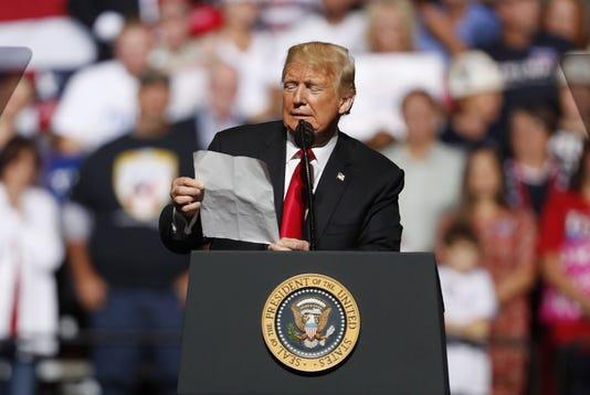 Trump S Make America Great Again Rally In Wheeling West Virginia