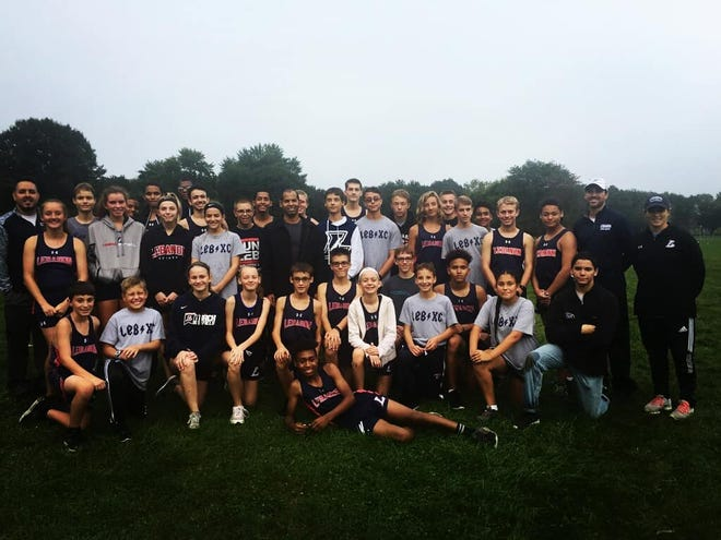 The Lebanon High cross country program was all smiles last Tuesday when the boys team won its first regular season meet since 2014 by sweeping Conestoga Valley and Solanco.