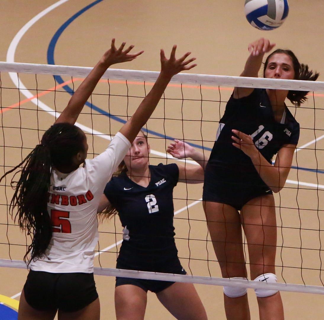 Ex-Trojan Vrabel a leader for Pitt-Johnstown volleyball