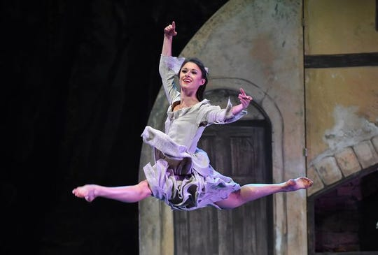 "Kathleen Martin dances as the title character for A.V.A. Ballet Theatre's 2018 production of ""Cinderella."""