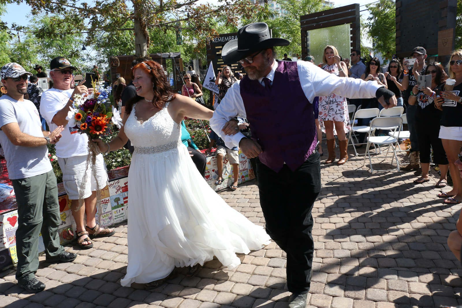 California couple marries on one-year anniversary of Las Vegas shooting