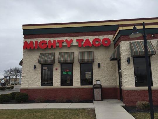 The Mighty Taco in Henrietta has closed.