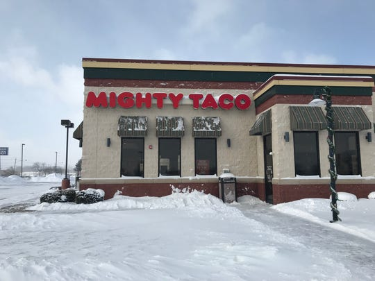 The Mighty Taco in Henrietta was across from Southtown Plaza.
